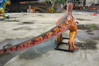 Rainproof Realistic Animatronic Dinosaur , Artificial Dinosaur For Green Park