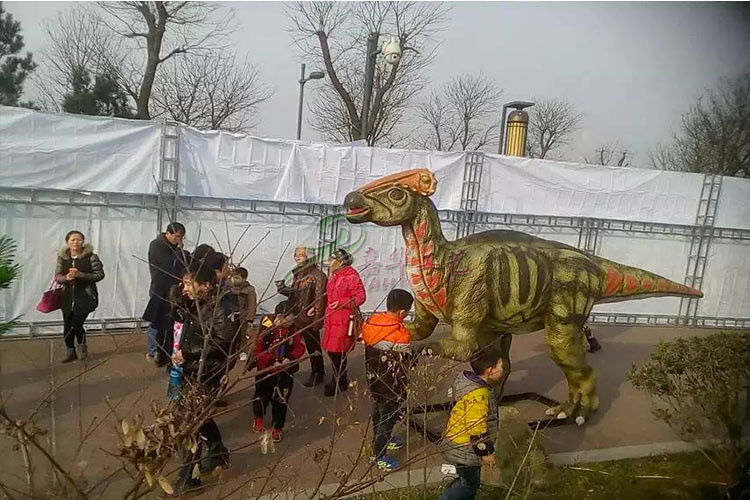 Frp Life Size Dinosaur Statue Display In Special Independent Decoration Park Outdoor